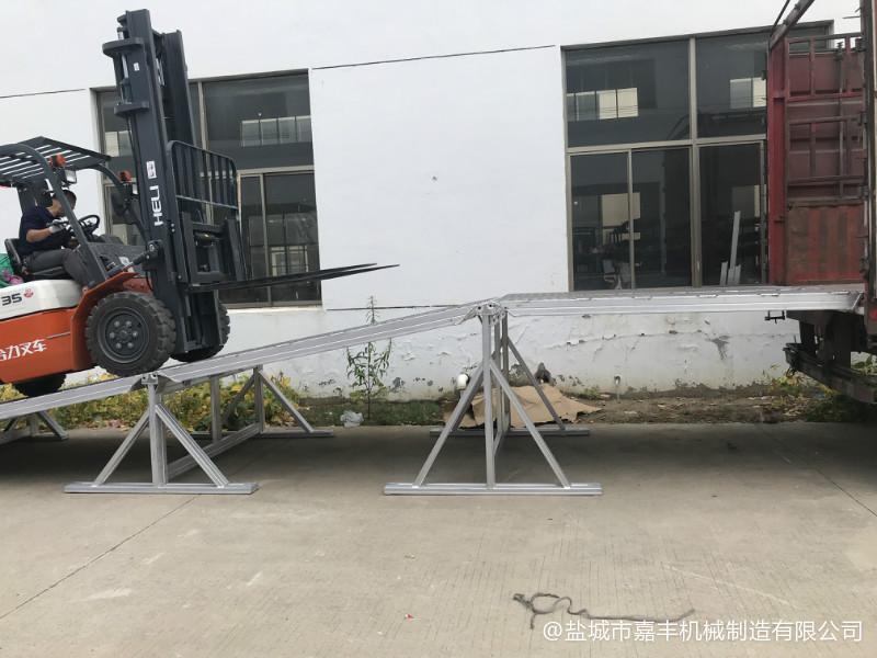 浙江叉车山西固定式山西登车桥定制厂家订做